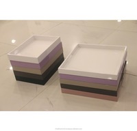 Gift products lacquerware elegant table decor serving trays for hotel/restaurants