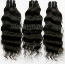 Hot selling 1b# natural wave pure indian hair extension the noble hair