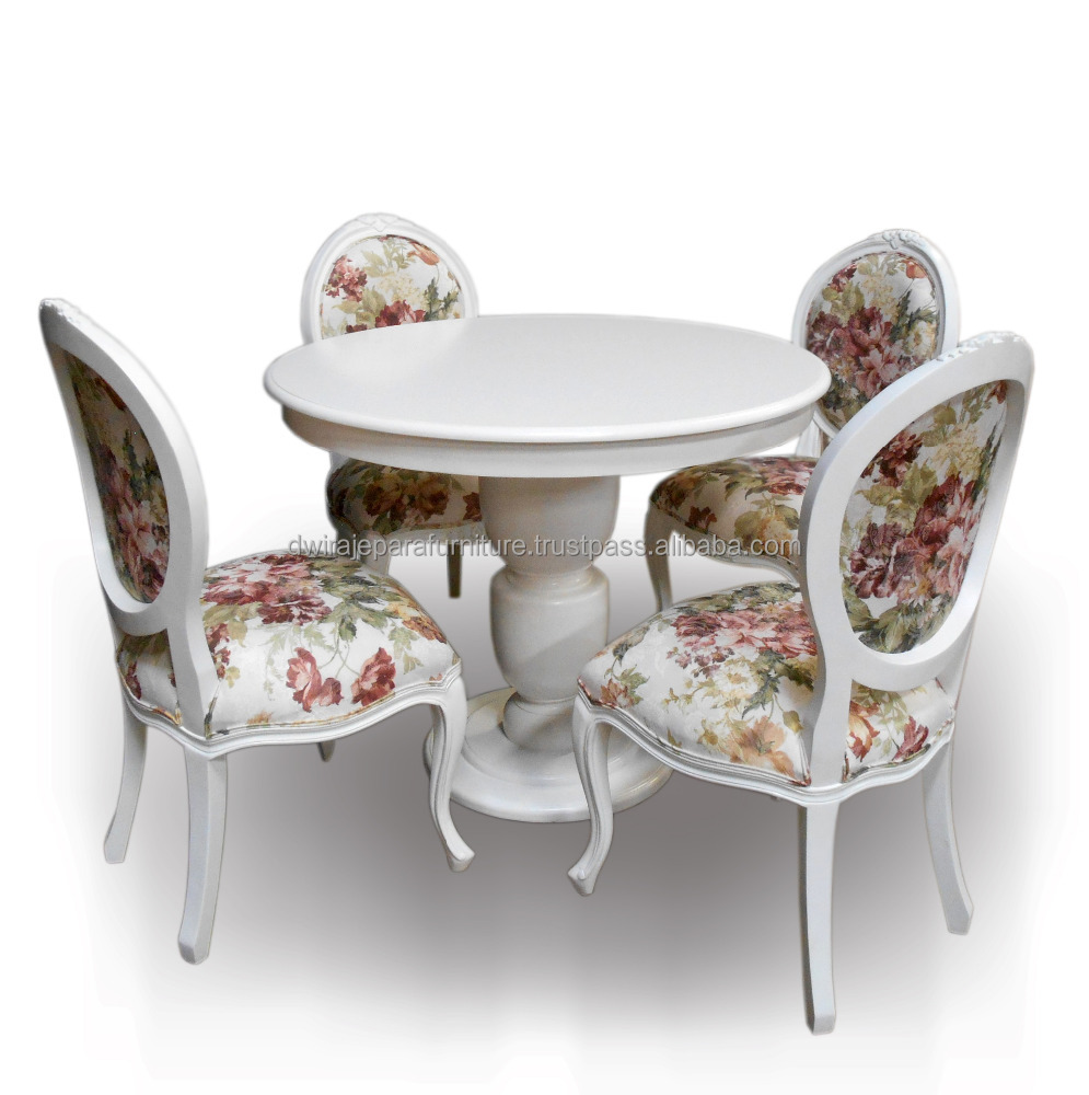 Wooden Furniture Dining Room Set French Style