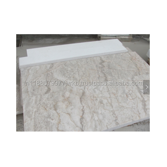 Building Material High Quality Grey Marble Stone Flooring Tile For Export