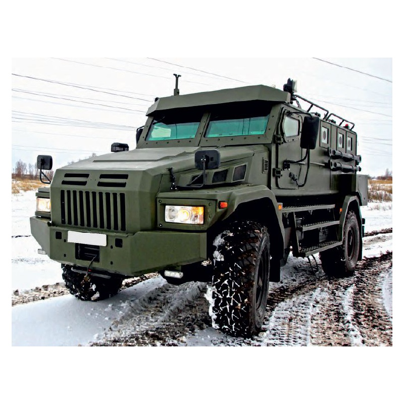 "Special-Purpose Armored Automobile ""Patrol - A"" (4x4)"