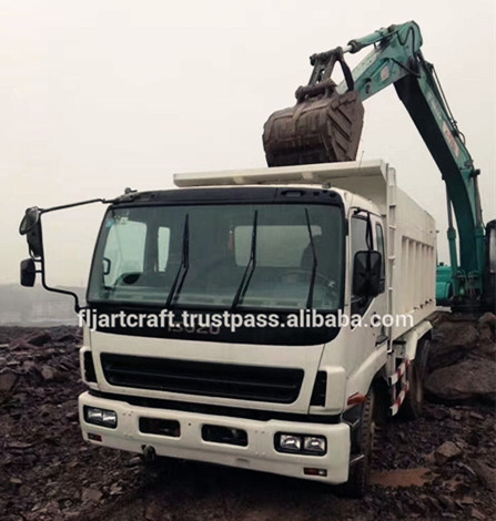 Japan made ISUZU Second hand Dump Truck for sale