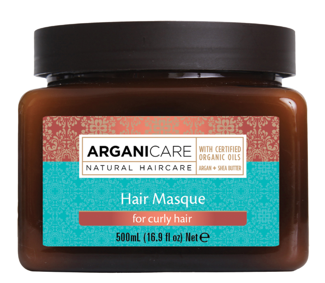 arganicare argan Hair masque 500ml for Curly Hair
