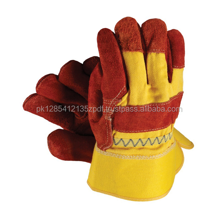 Goat & Sheepskin Leather Working Hand Gloves