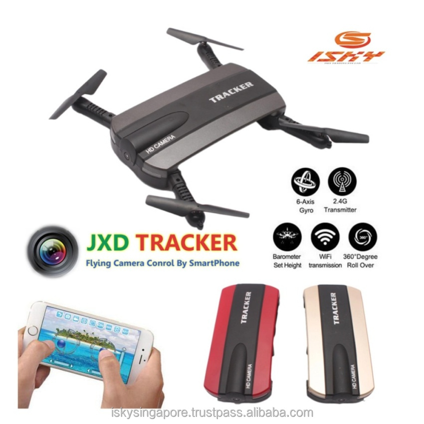 JXD 523 Quadcopter FPV Mini Drone With Camera HD Drone Quadrocopter RC Helicopter