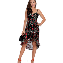 Embroidered Floral Mesh Dress (Pack)