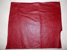 Blood Red Cowhide Upholstery Leather IM.3264