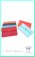 Colorful Lambskin High Quality Leather Fancy