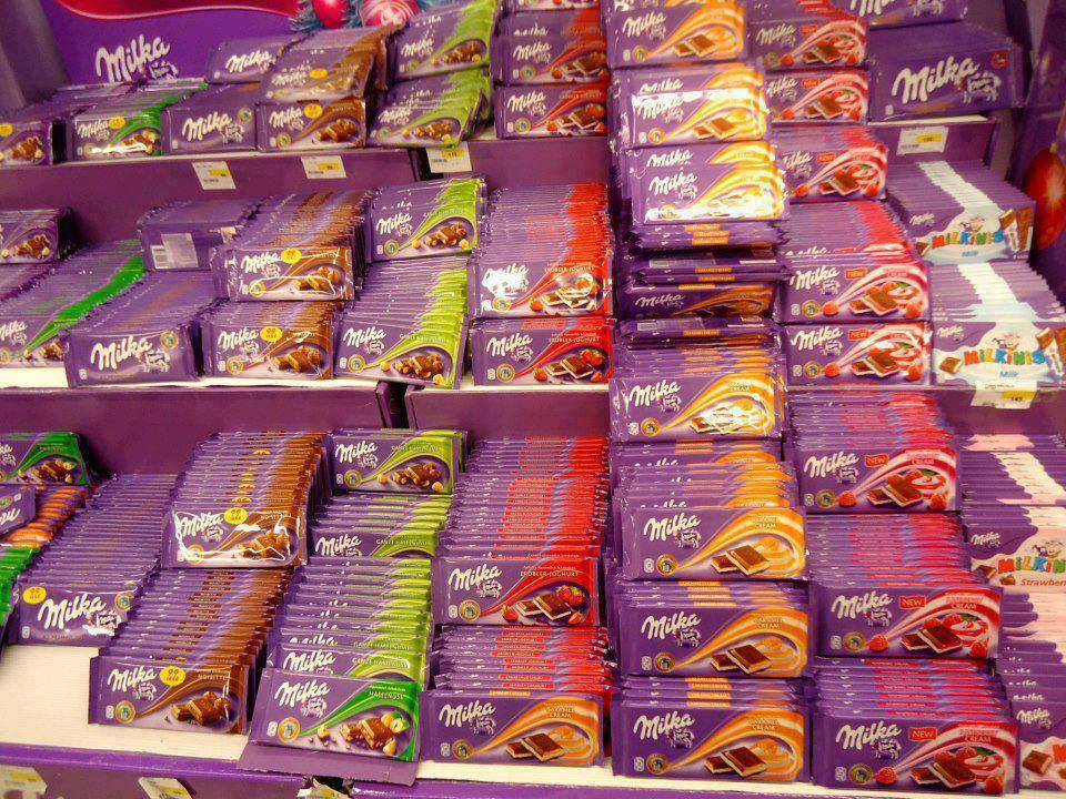 Careful Milka Chocolate 100g - All Grams Avialable