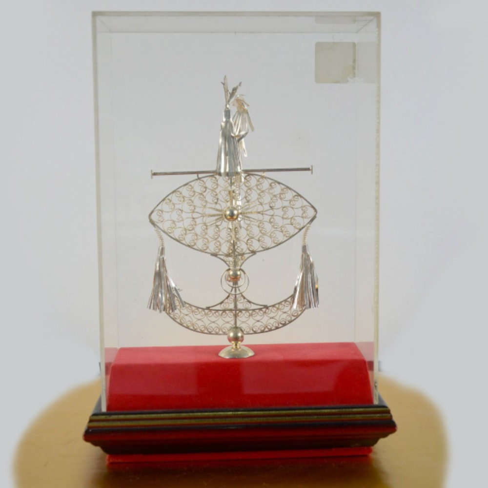 Special Made Silver Craft Kite Gift Box