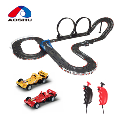 Smart design high quality diy race track 1:43 scale wholesale slot cars for kids gift