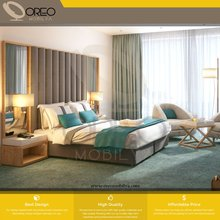 Hilton Hotel Standard Queen King Premium Hotel Room High Quality Contemporary Commercial Contract Project Furniture Wholesale