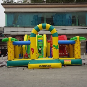 Combo Jumping Slide Bouncy Castle Inflatable Amusement Park Prices for Sale