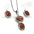 Scenic sponge coral gemstone handmade 925 sterling silver jewelry set indian jewelry wholesale