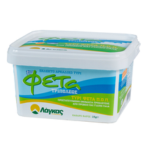 Greek Traditional Feta White Cheese / PDO Dairy Food Product ideal for Salad made of Excellent Quality Goat & Sheep Milk - 1kg