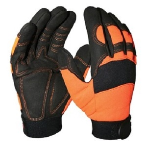 High Quality Protective Gloves With Rubber Logo Mechanical Gloves Hard Wearing Anti-Impact Mechanics Gloves