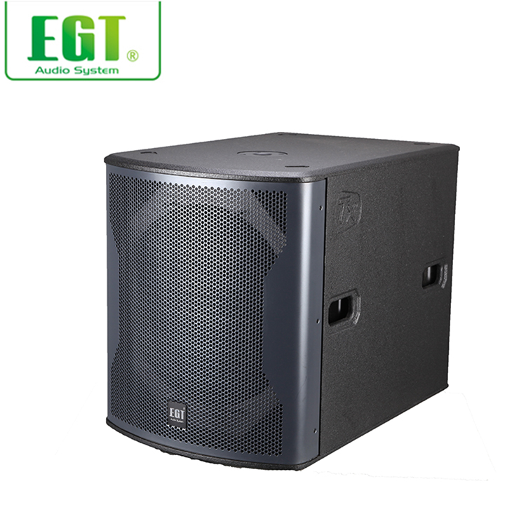 "High quality 1 x 18"" inch loudspeaker professional subwoofer 18 speaker subwoofer"