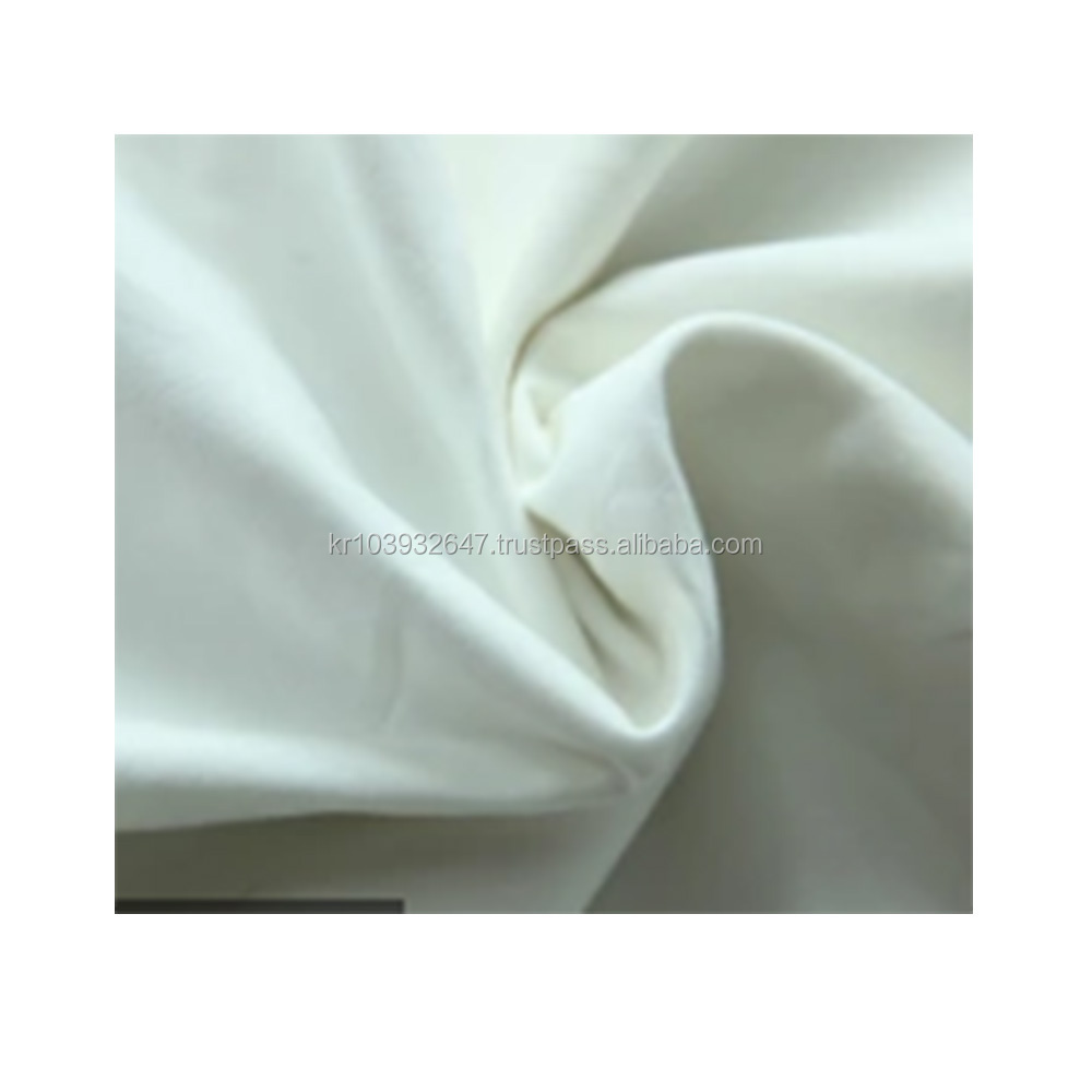 Good price wholesale korean bag 40su work wear uniform organic cotton fabric