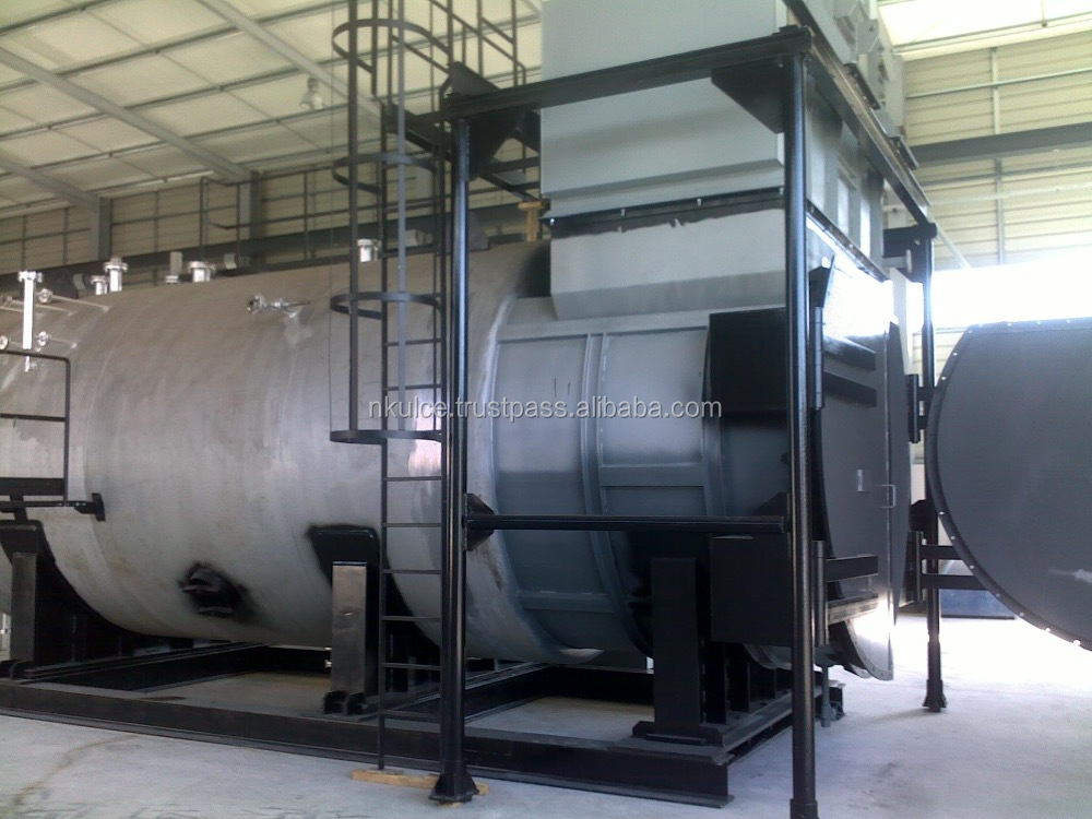Heat Recovery Boiler For CENTRAX CX501 KB7 Gas Turbine Cogeneration Plant
