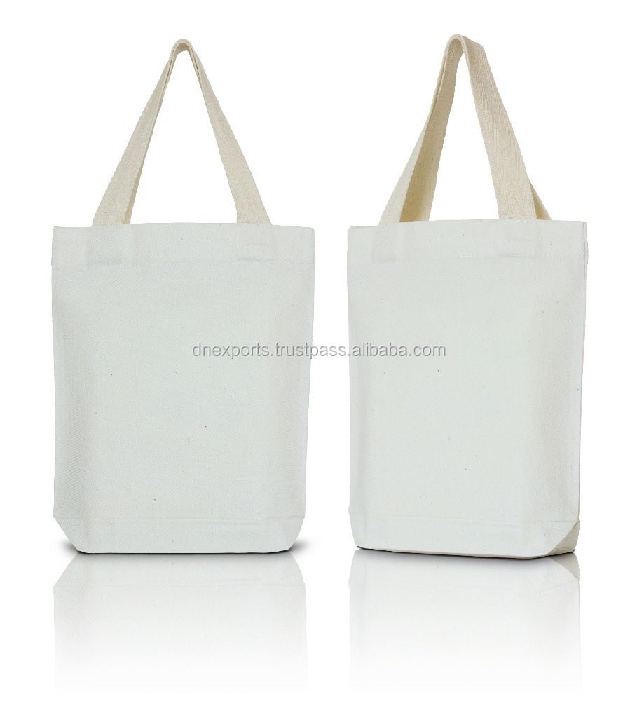 Pure Heavy Cotton Canvas Tote Bag