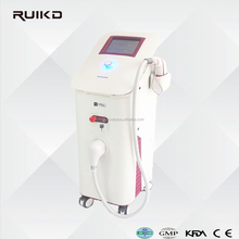 New diode hair removal