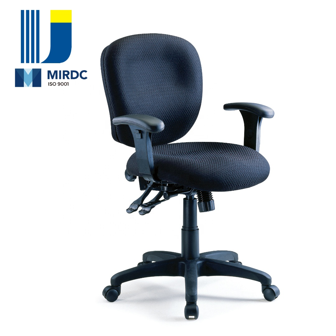 Middle Multifunctional Office Task Chair with Fabric Upholstery CS02