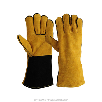 Quality Cow Split Leather Welding Gloves