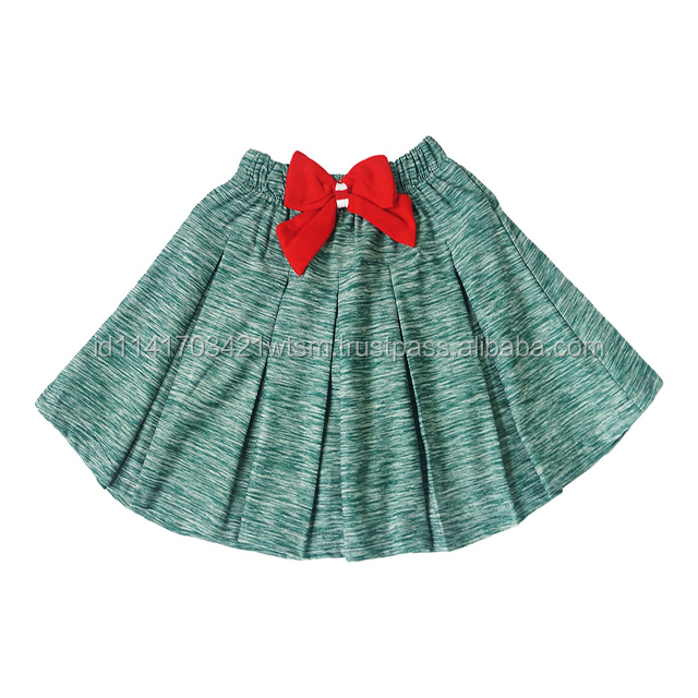 Hot sale children skirt with ribbon