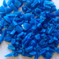 Hd Plastic Scrap Blue HDPE Scraps