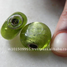 Green glass bead for jewellery buy at best prices on INDIANSHELF Only