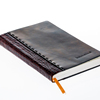 14-20 Stitched Leather Covered Agenda