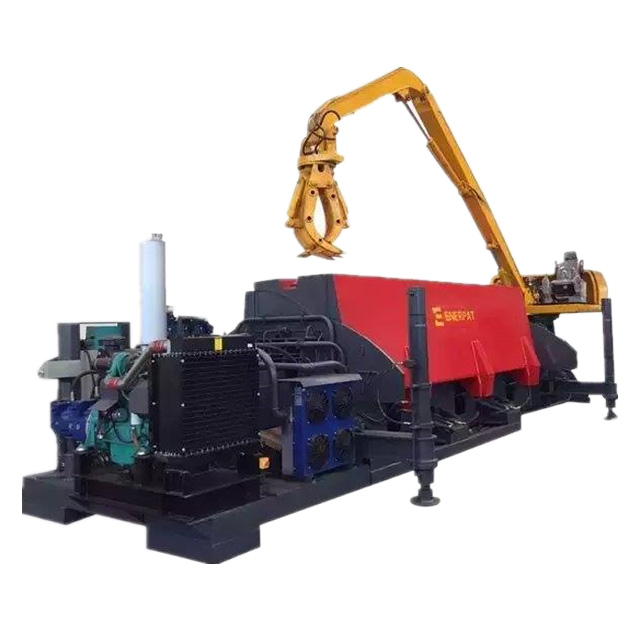 Waste Car Baler/Car Compactor/Enerpat Scrap Car Recycling <strong>Equipment</strong> with CE