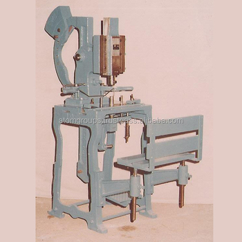 Foot Operated Toilet Soap Stamping Machine No. D - 7