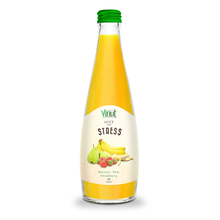 330ml Glasbotle Vegetable juice - Banana - Pear - Strawberry