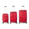 Travel Bag - Set of 3 - Burgundy / Red - SKU: ZH-04-016