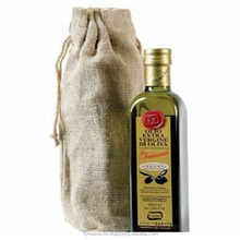 High Quality Jute Wine Bottle Gift Bags / Jute wine Tote Gift Bag