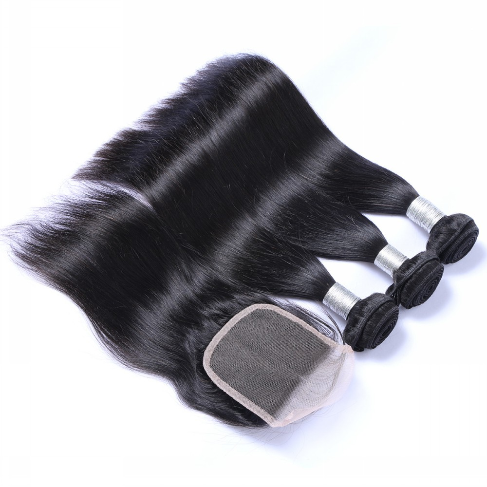 BF Set sales 3 bundle and closure cheap price hair <strong>weave</strong>