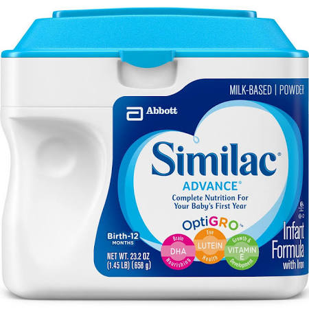 Similac Advance Infant Formula Powder with Iron - 1.45lb (6 pk)