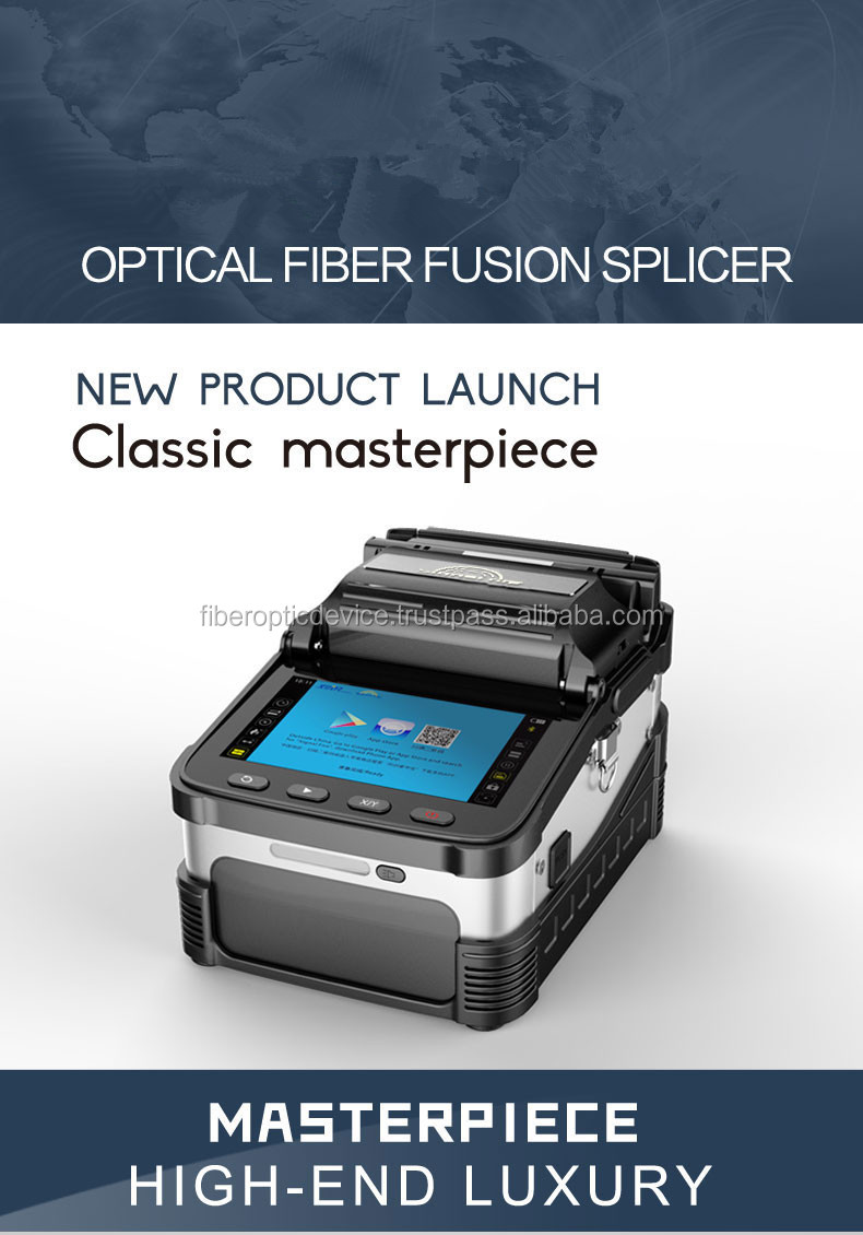 Fiber Optic Cable Splicing Machine FTTH FTTB FTTX Fusion Splicer equal Fujikura Sumitomo
