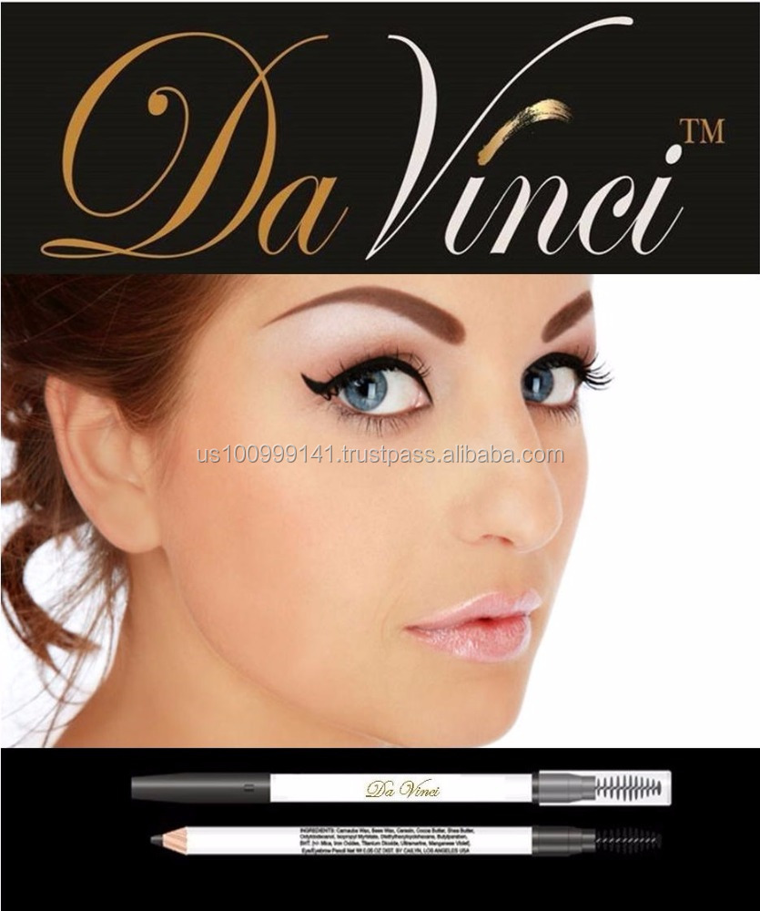 EYEBROW PENCIL 100% Natural Cosmetics 5 Colors from Da Vinci Cosmetics