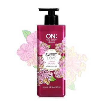 ON THE BODY Perfume Sweet Love Body Wash