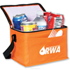 Non Woven Insulated Cooler Bag, Foil, Epe Foam, Strap, Insulated Inside, Front Slash Pocket