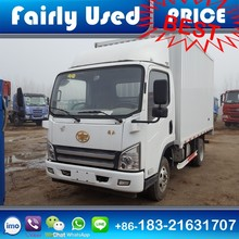 Cheap Price 4x2 FAW Van Cargo Truck of FAW Cargo Box Truck