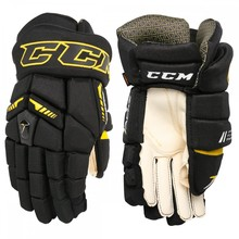Ultra Tacks Sr. Hockey Gloves black/yellow