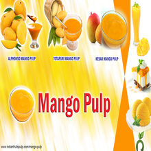 Reasonable Price Totapuri Mango Pulp