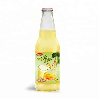 Wholesale Natural Soya milk Mango flavour Suppliers in Glass bottle 300ml