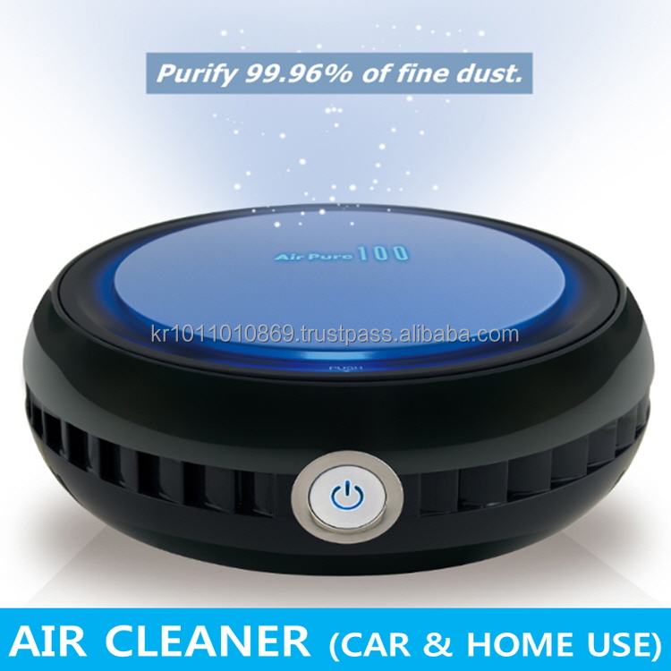 High Qualtity Car Air Purifier for micro dust by Hepa filter from Korea