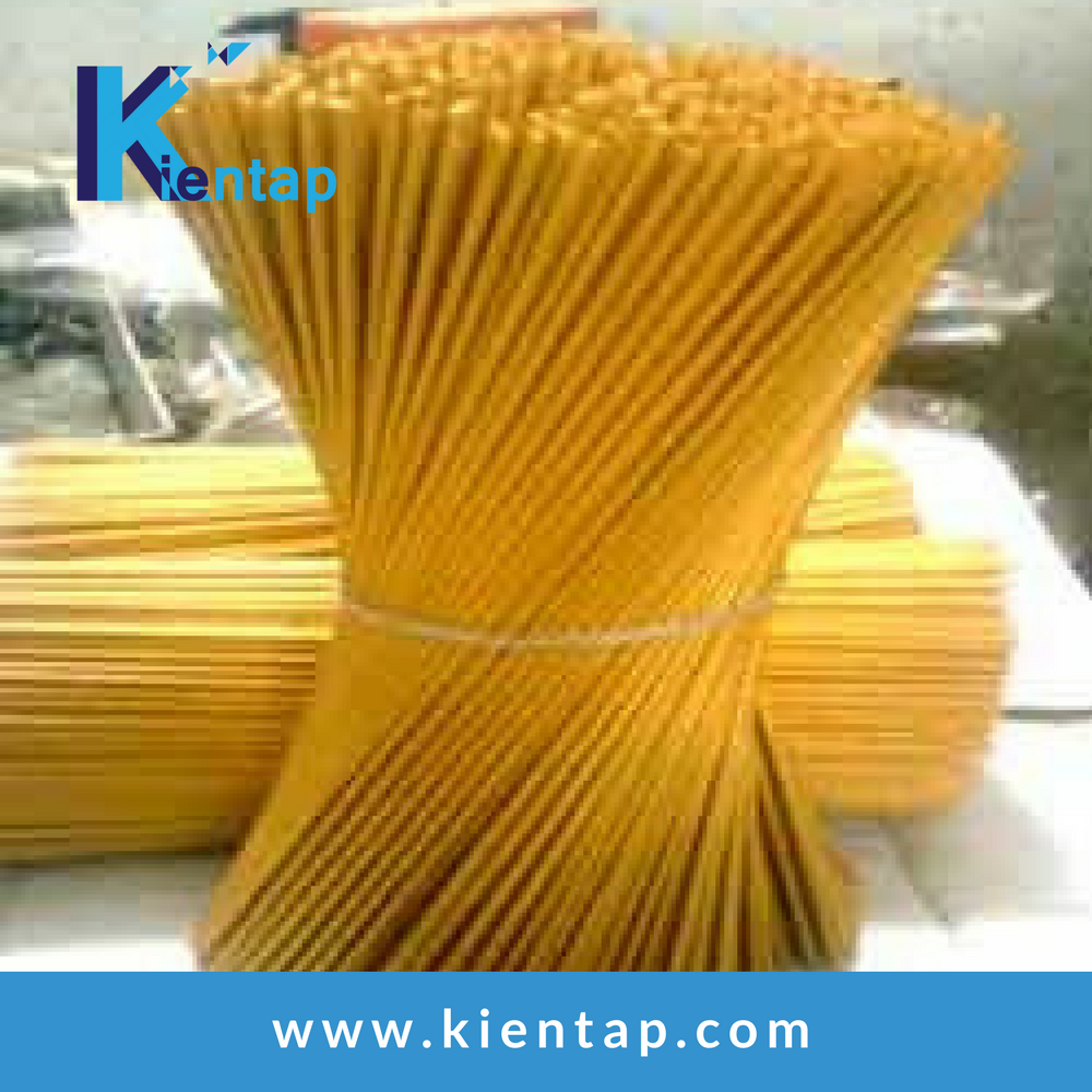 "factory direct sale 8"" Bambo sticks for Raw Incense Grade A/round bamboo sticks agarbatti from Kientap JSC Vietnam"