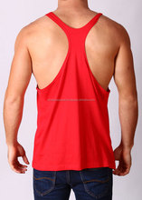 Muscle Men Cotton Stringer Blank Fitness Gym Tank Top Cheap Wholesale