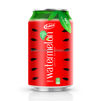 Wholesale High Quality Canned Fresh watermelon Juice With Vitamin C